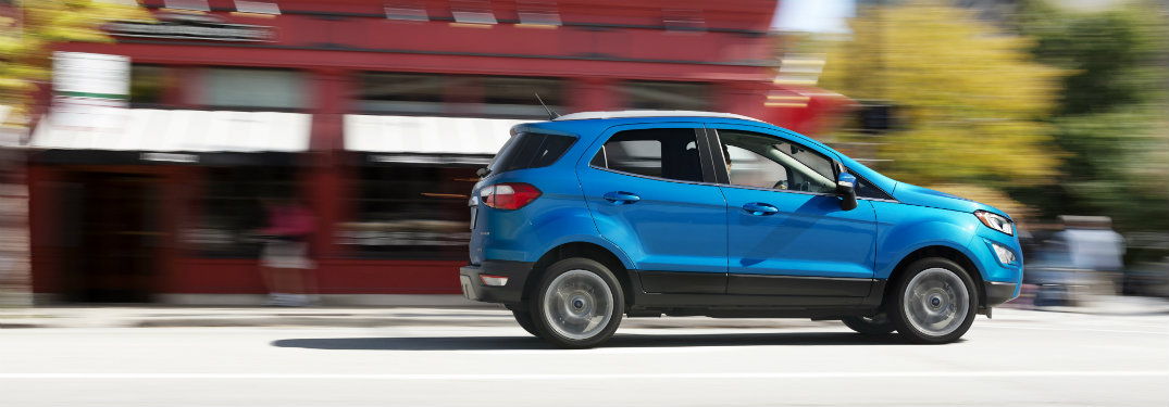 Gallery of Ford EcoSport Images