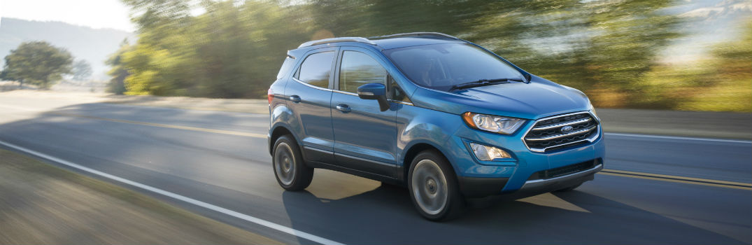 2018 Ford EcoSport New Powertrain & Storage Features_o