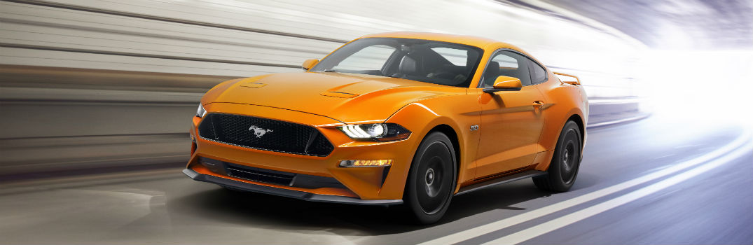 What Does the 2018 Ford Mustang Look Like in Action_o