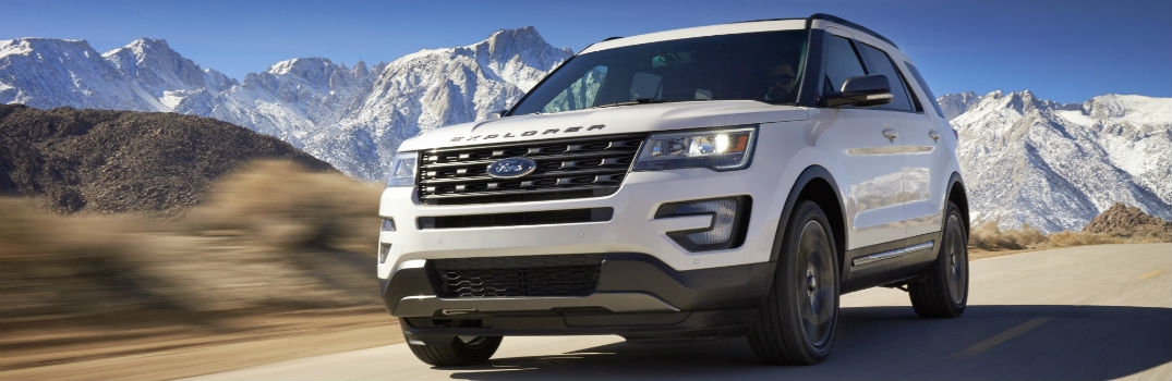 What New Technology Features Come With the 2017 Ford Explorer?