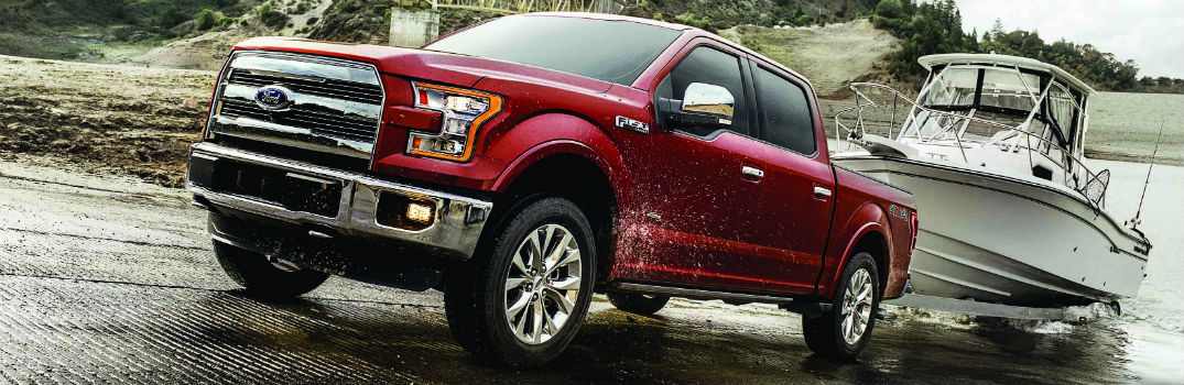 What are the 2017 Ford F-150's Maximum Towing and Hauling Ratings?