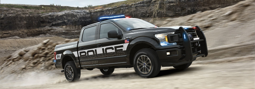 Specs and Features for the 2018 Ford F-150 Police Responder_o