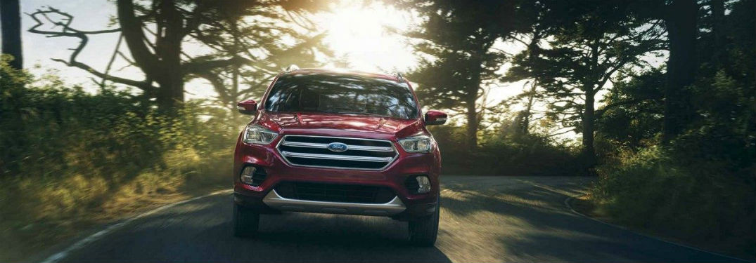 2018 Ford Escape front exterior