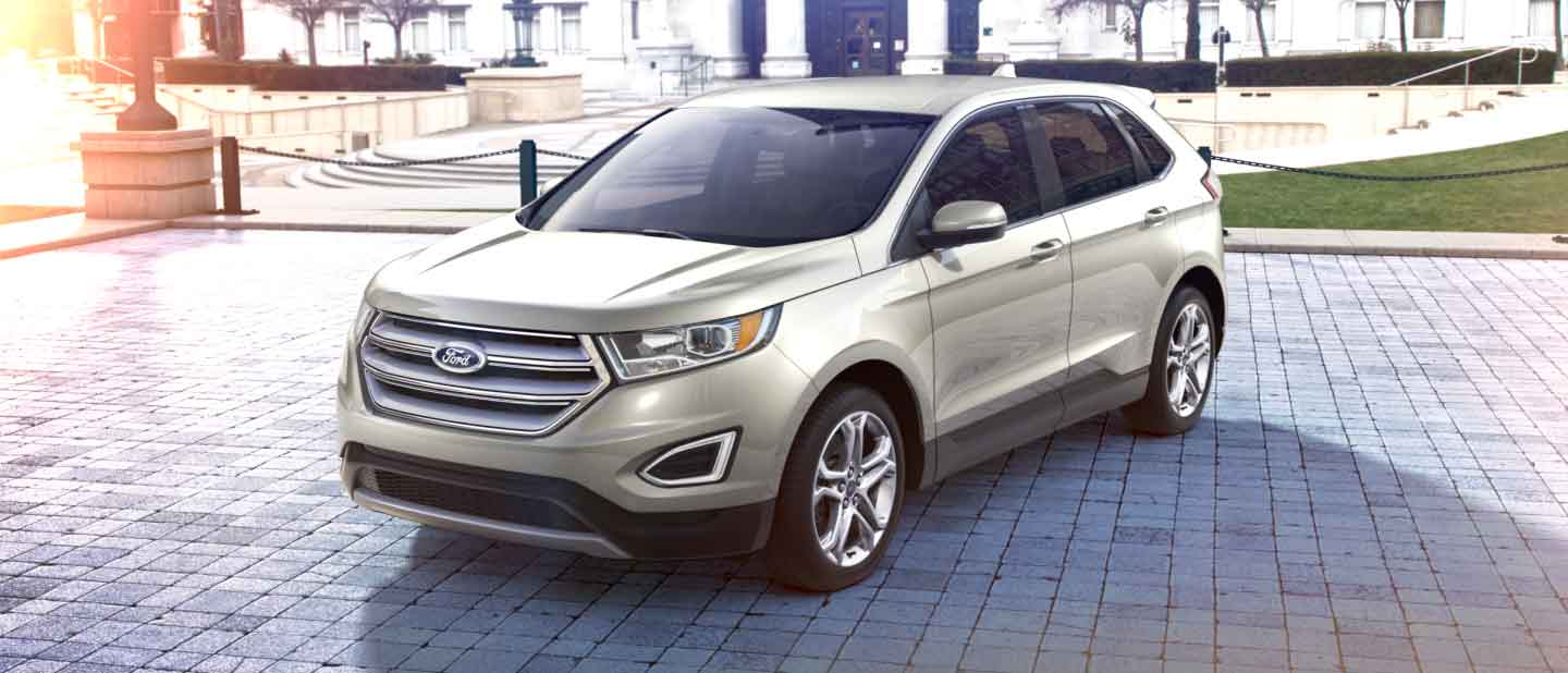 Ford Edge White Gold Exterior Color