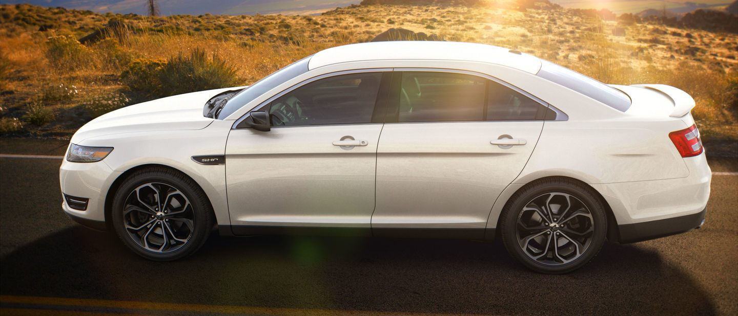 2018 Ford Taurus Oxford White Exterior Color