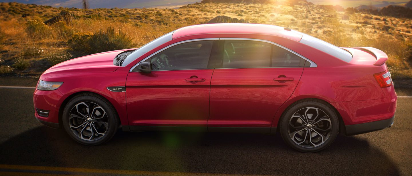 2018 Ford Taurus Ruby Red Exterior Color