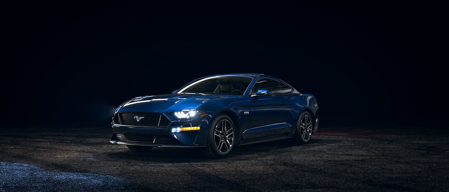 2019-Ford-Mustang-Kona-Blue-Exterior-Color_o - Akins Ford