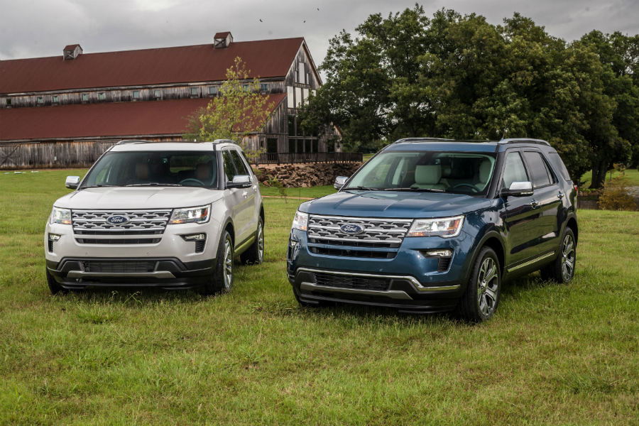 Ford Explorer Towing Capacity >> Power And Towing Specs For The 2019 Ford Explorer Lineup