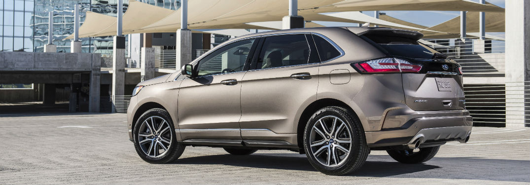 Ford Edge Dimensions >> 2019 Ford Edge Passenger And Cargo Space Specs