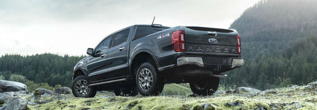Listing the Measurement Specifications for the 2019 Ford Ranger Lineup's Cab and Cargo Bed Options at Akins Ford near Atlanta GA
