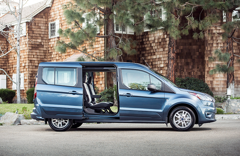 2019 Ford Transit Connect Passenger Wagon Interior Dimensions