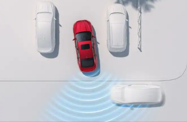 Ford Co-Pilot360 Cross-Traffic Radar