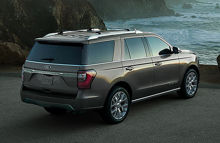 2019 Ford Expedition Parked at Water's Edge