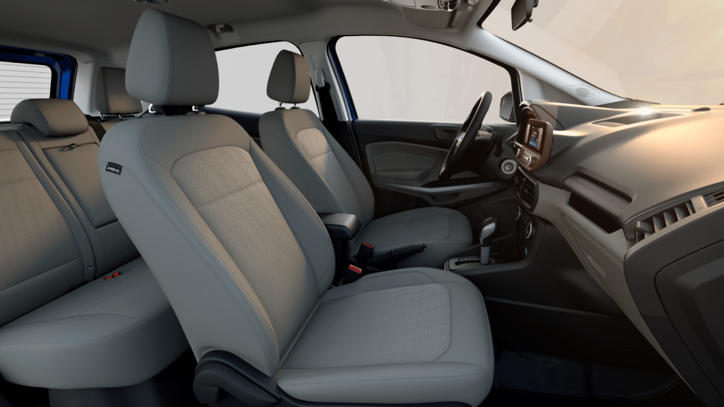 2019 Ford Ecosport Interior Material Color And Feature Options