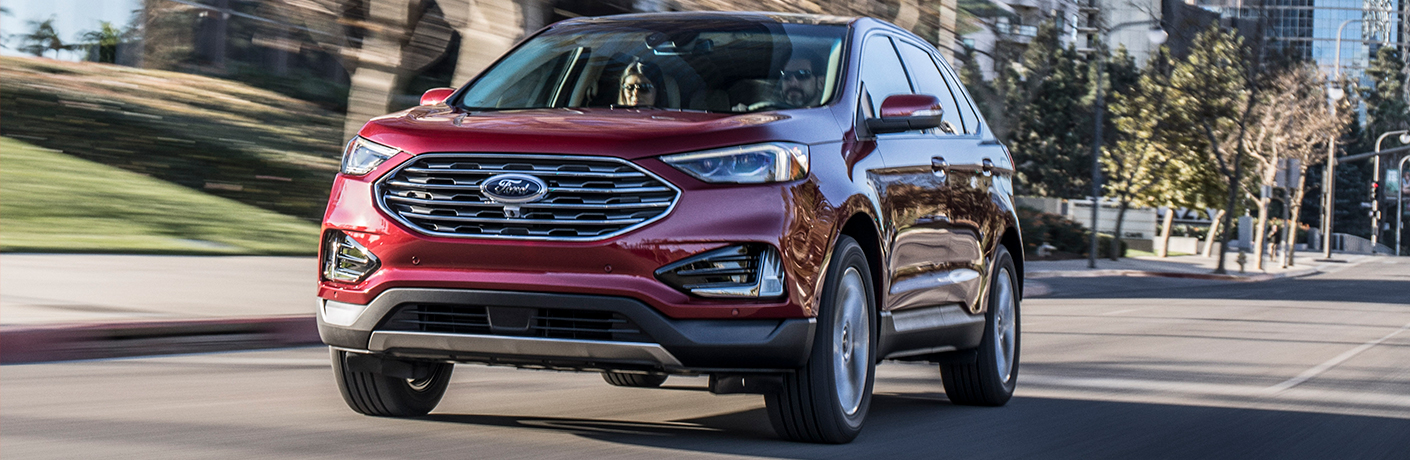 2019 Ford Edge on road