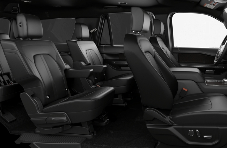 2019 Ford Expedition leather seats