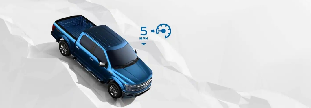 2019 Ford F-150 hill descent control graphic