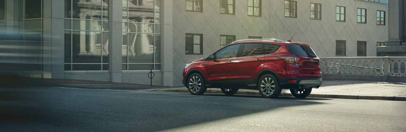 What Seating Materials and Color Combinations are Offered on the 2019 Ford Escape?