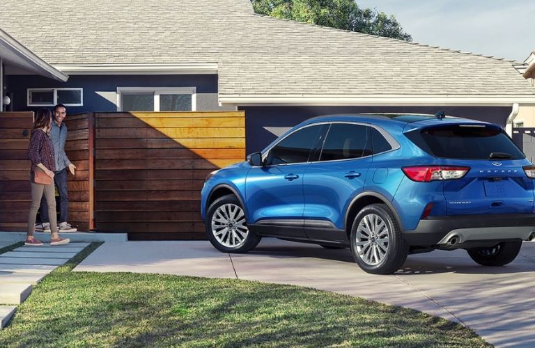 2020 Ford Escape on residential driveway