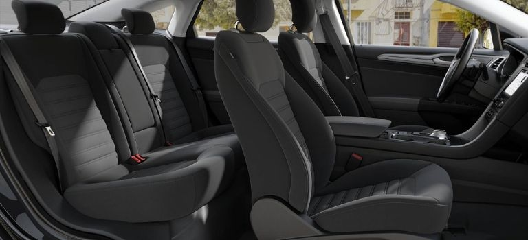 2019 Ford Fusion Ebony Cloth Seats
