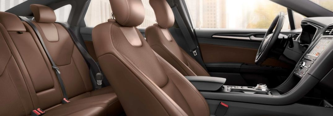 What Interior Trim Material and Color Combinations Are Found on the 2019 Ford Fusion Lineup?