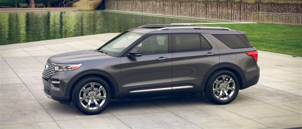 2020 Ford Explorer in Magnetic