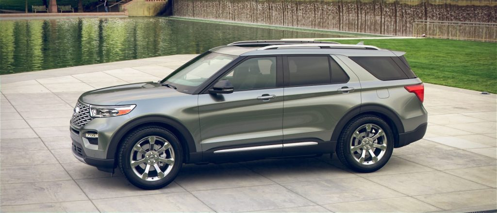 2020 Ford Explorer in Spruce Silver