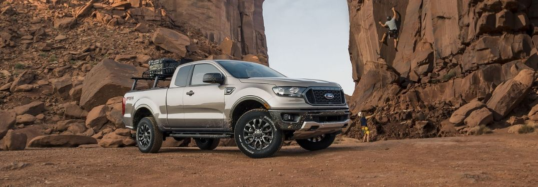2019 Ford Ranger by rock climbers