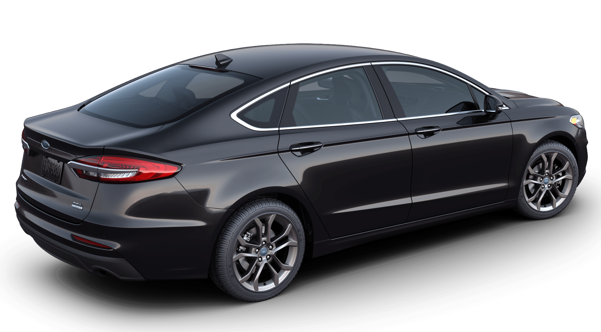 2020 Ford Fusion in agate black