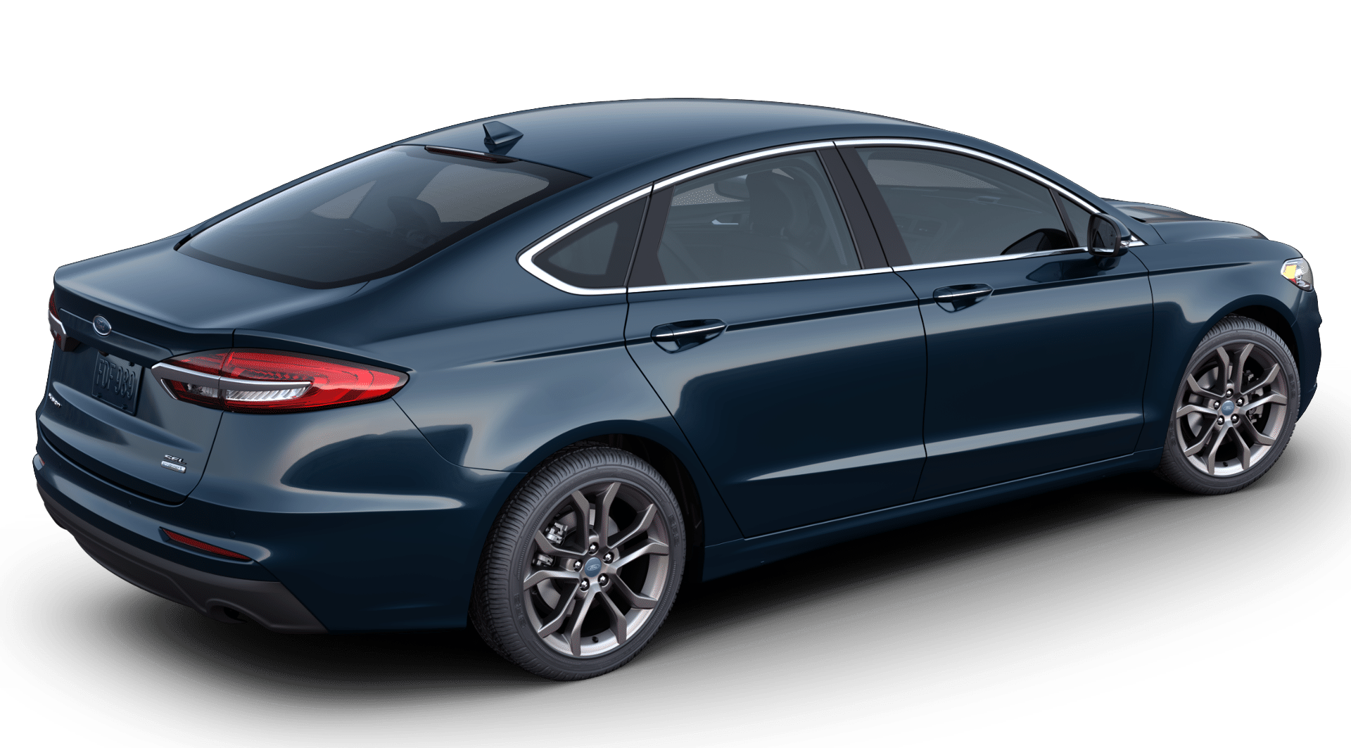 2020 Ford Fusion in alto blue