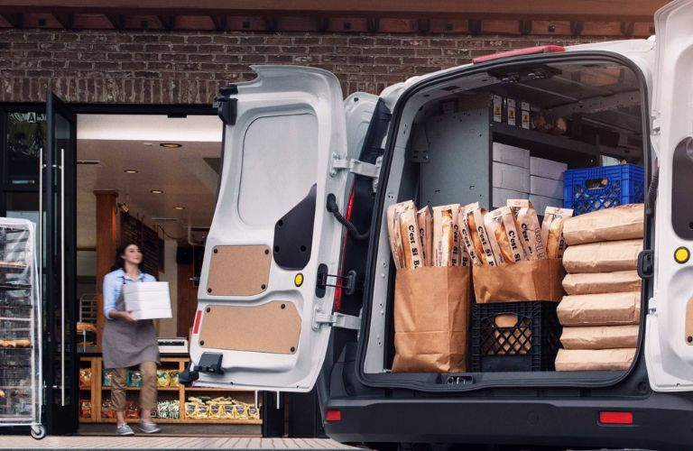 2020 Ford Transit Connect rear cargo area