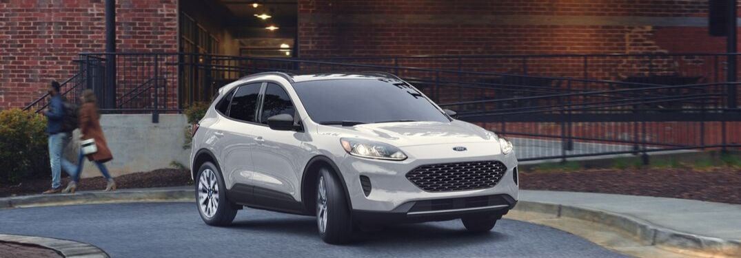 2020 Ford Escape on city street