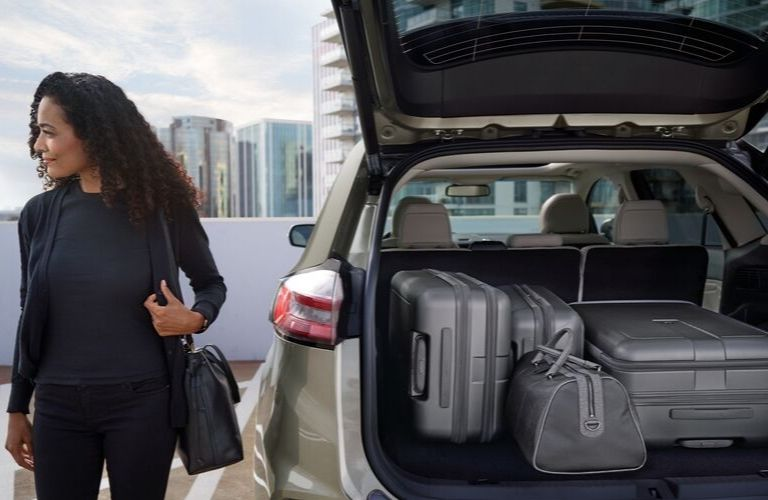 2020 Ford Edge Passenger Space And Cargo Capacity Akins Ford