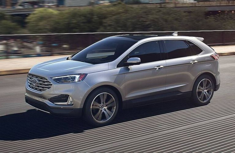 2020 Ford Edge in Iconic Silver