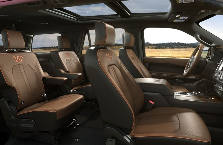 2020 Ford Expedition King Ranch cabin