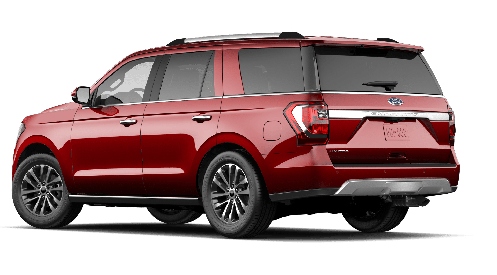 2020 Ford Expedition in Rapid Red