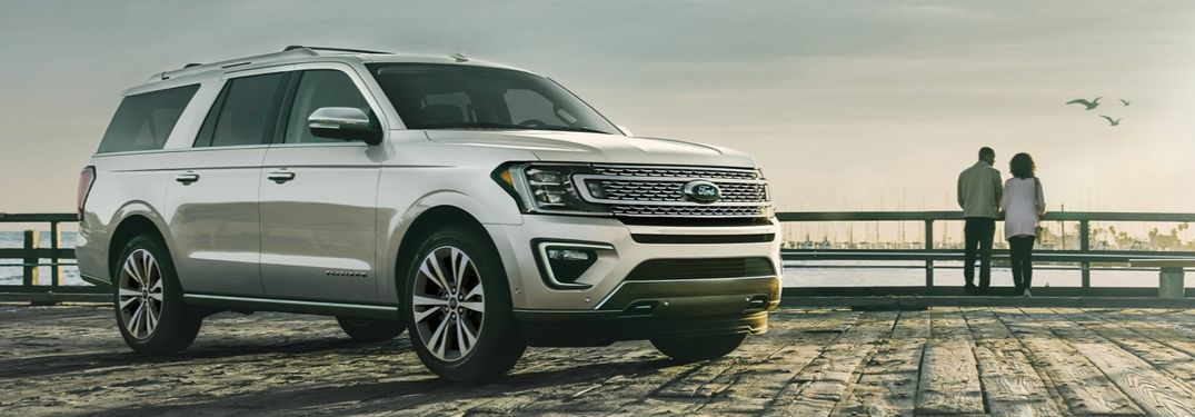2020 Ford Expedition on boardwalk