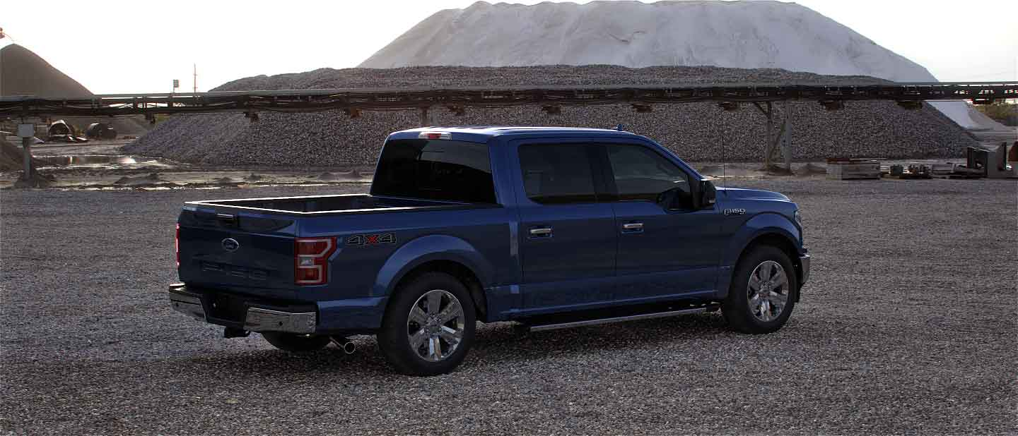 2020 Ford F-150 in Blue Jeans