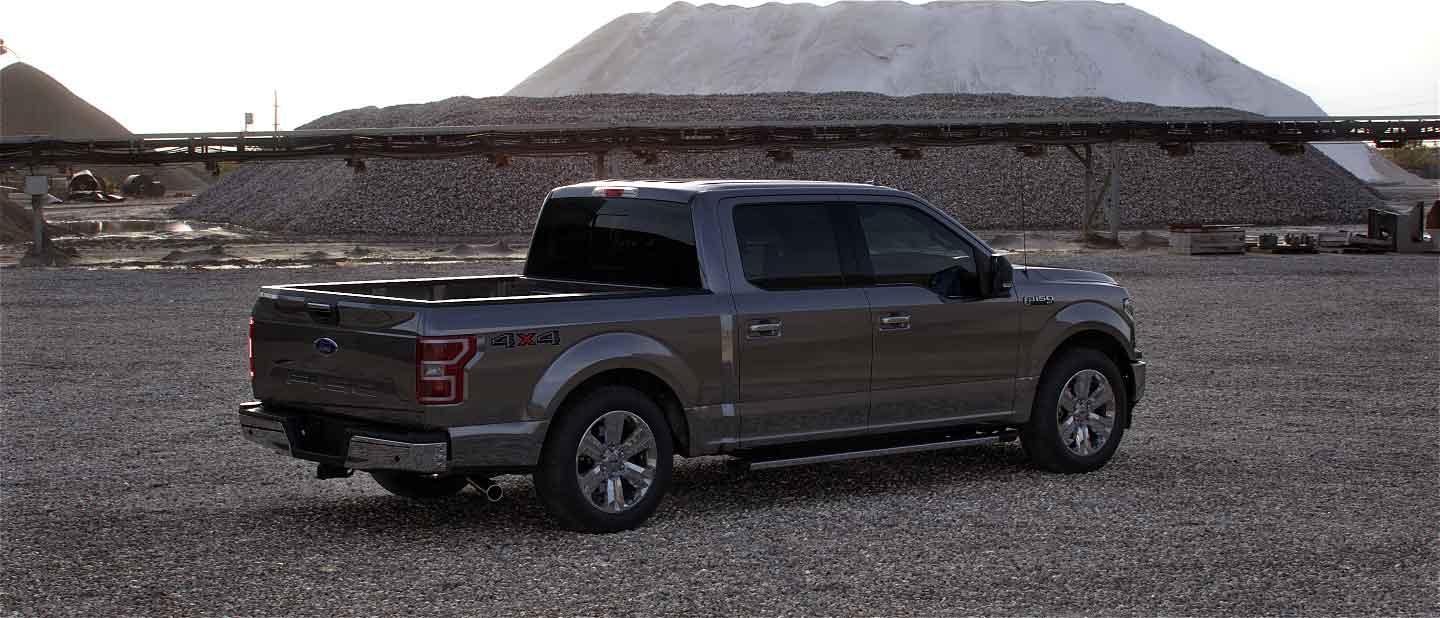 2020 Ford F-150 in Stone Gray