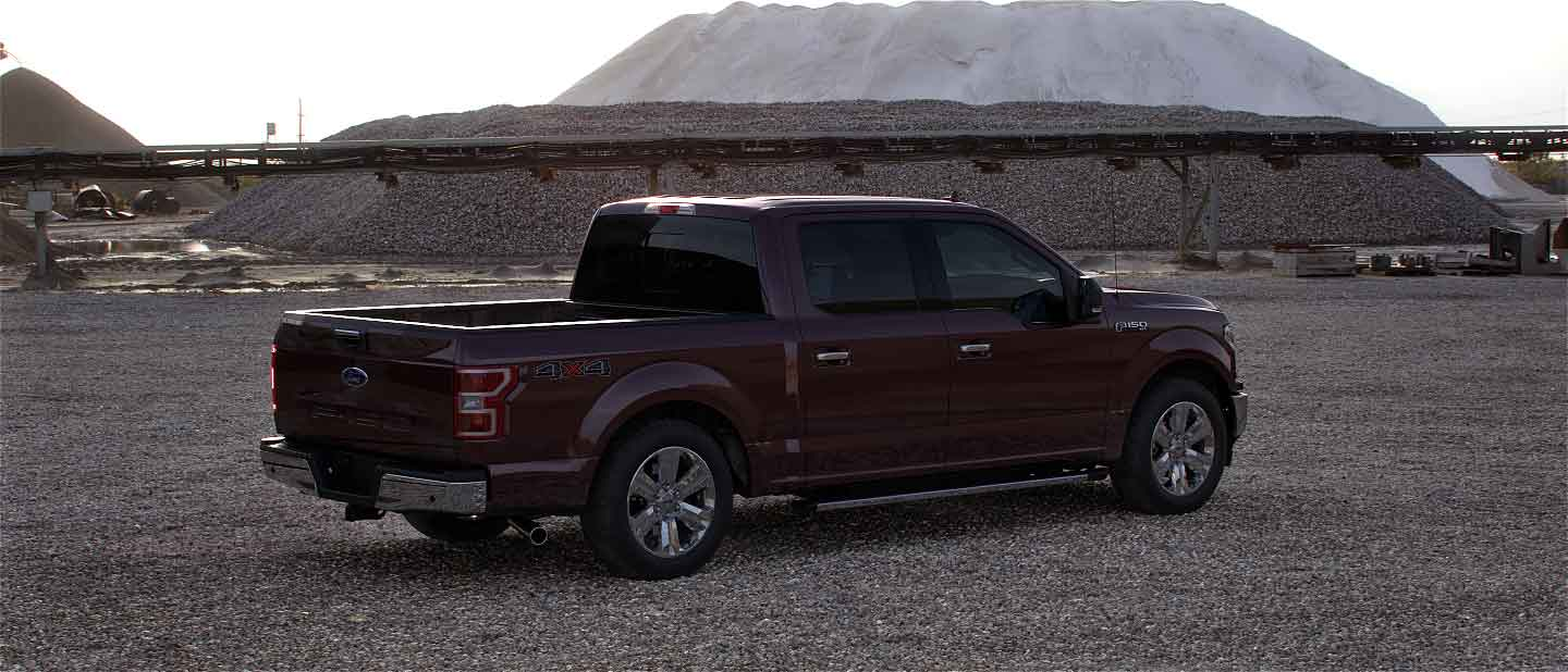 2020 Ford F-150 in Magma Red