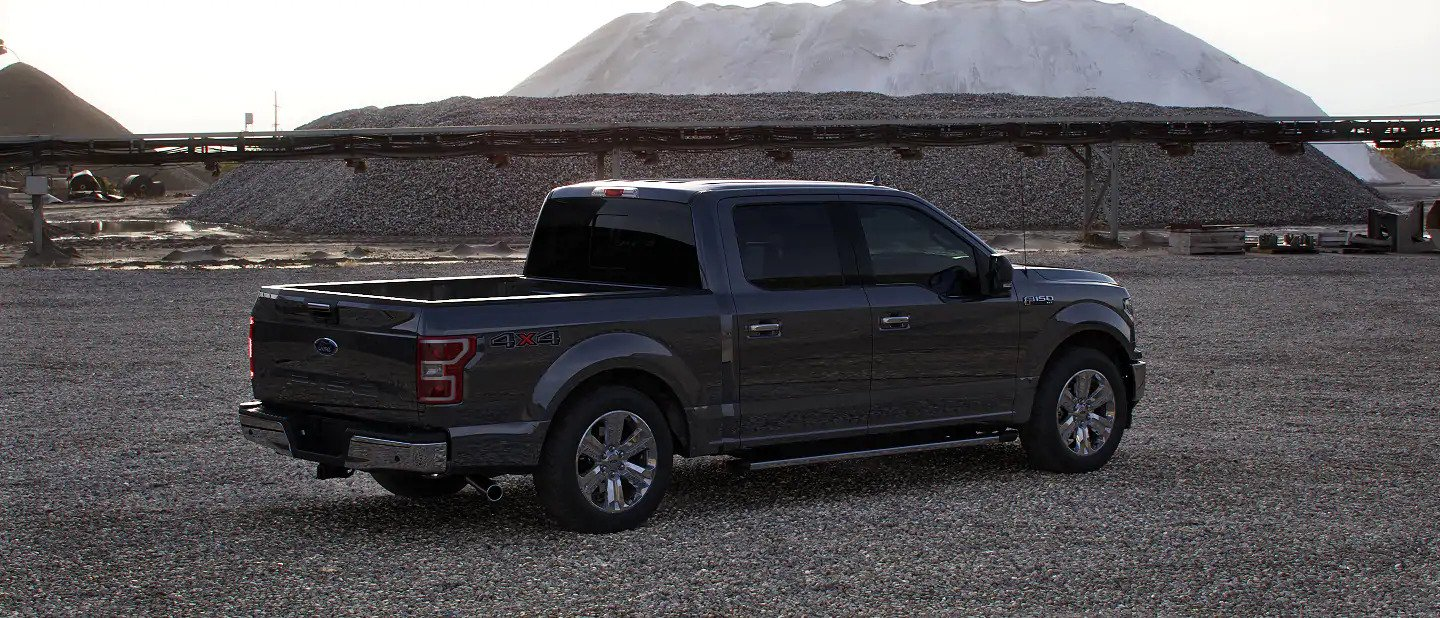 2020 Ford F-150 in Lead Foot