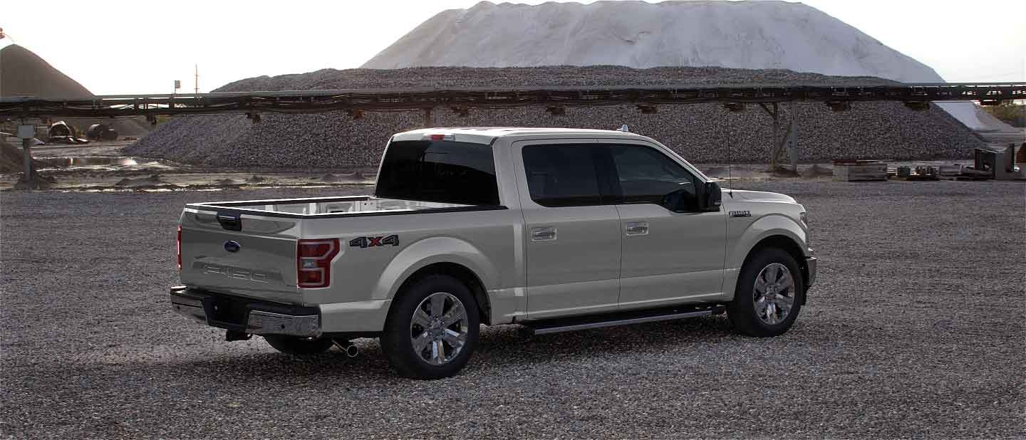 2020 Ford F-150 in Star White