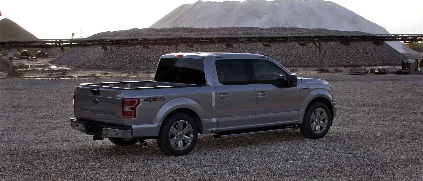 2020 Ford F-150 in Iconic Silver