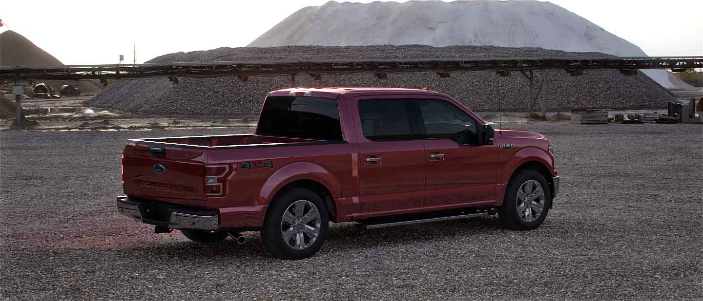 2020 Ford F-150 in Rapid Red