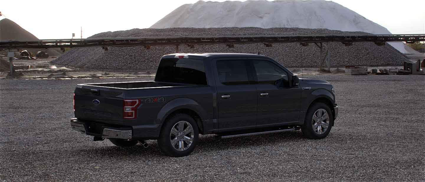 2020 Ford F-150 in Abyss Gray