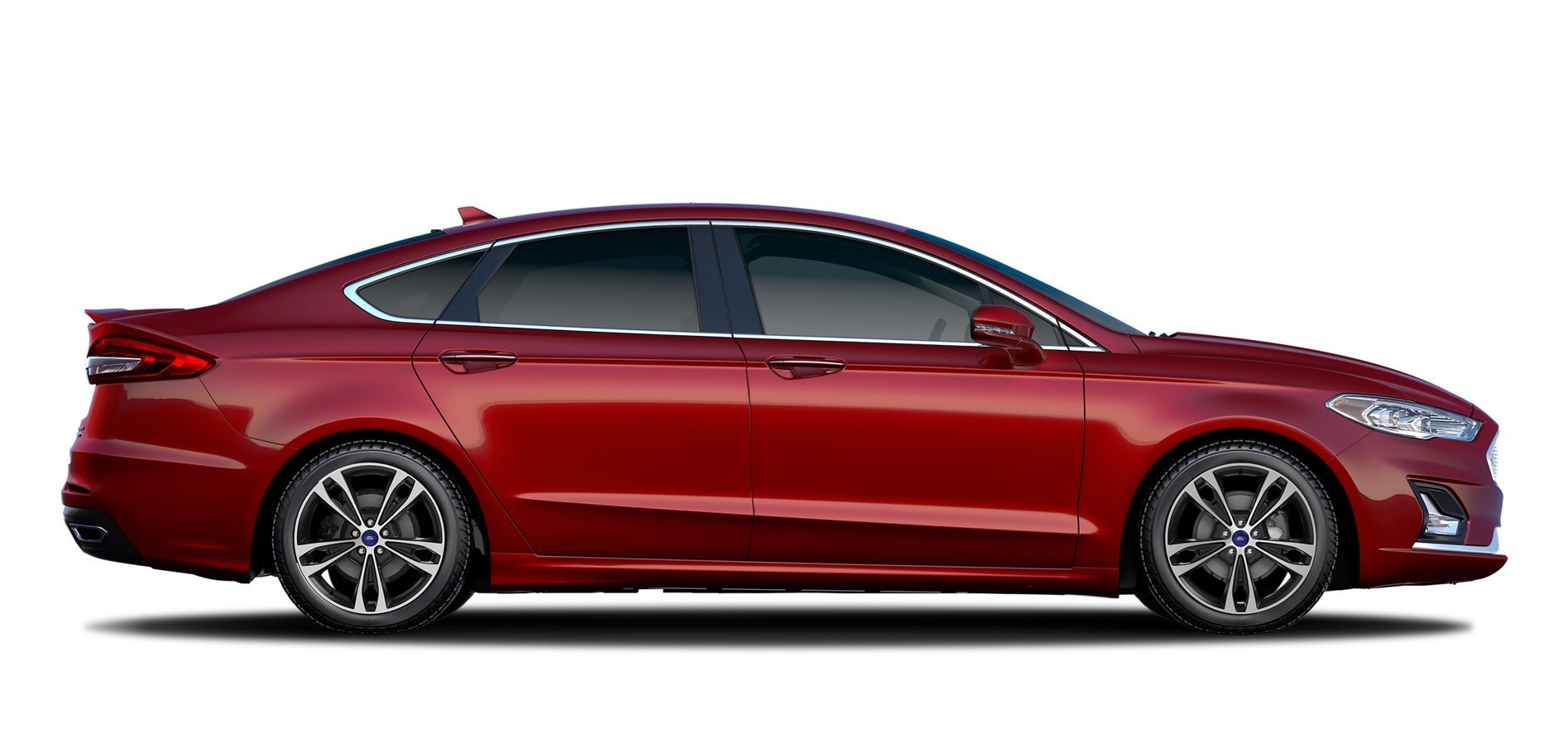 2020 Ford Fusion side profile