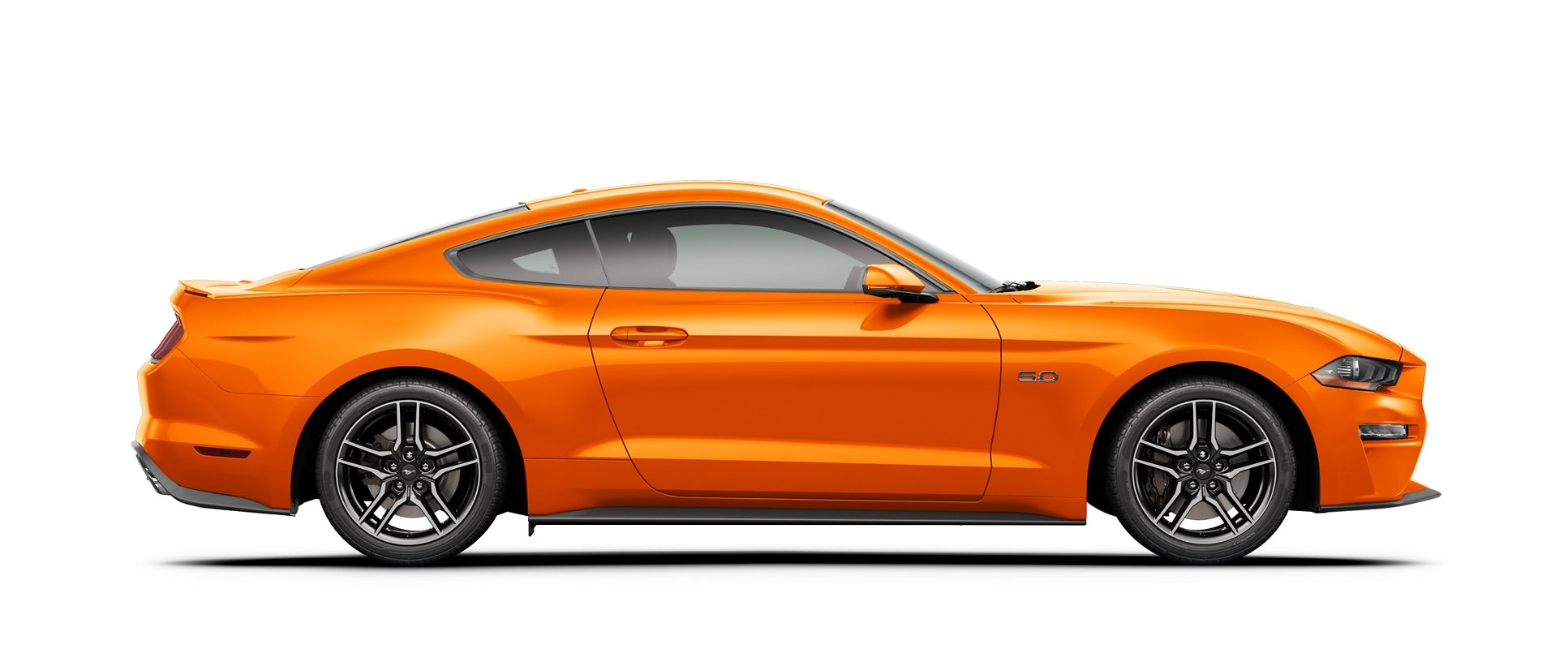 2020 Ford Mustang side profile