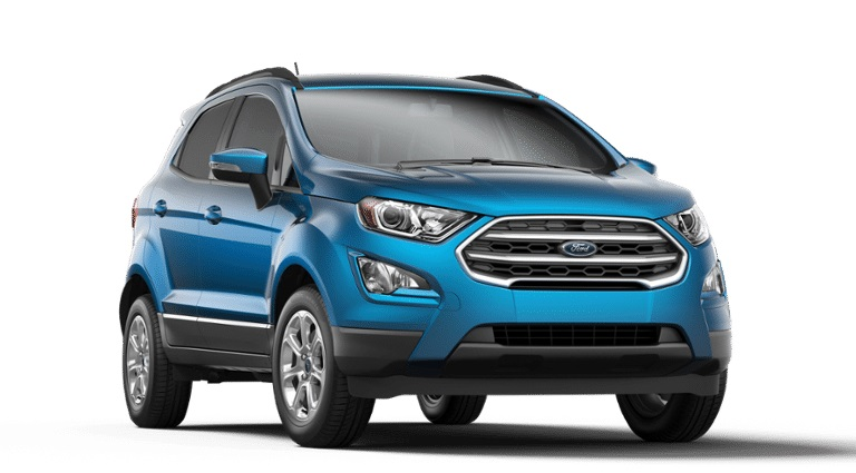 2020 Ford EcoSport in Blue Candy Metallic Tinted Clearcoat