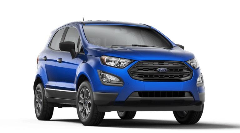 2020 Ford EcoSport in Lightning Blue