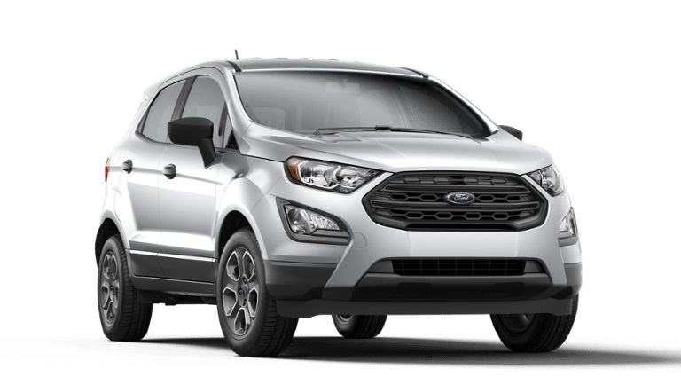 2020 Ford EcoSport in Moondust Silver